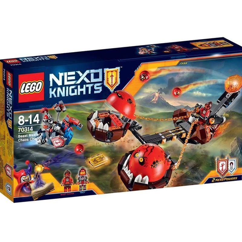 LEGO NEXO KNIGHTS RYDWAN WŁADCY BESTII 70314