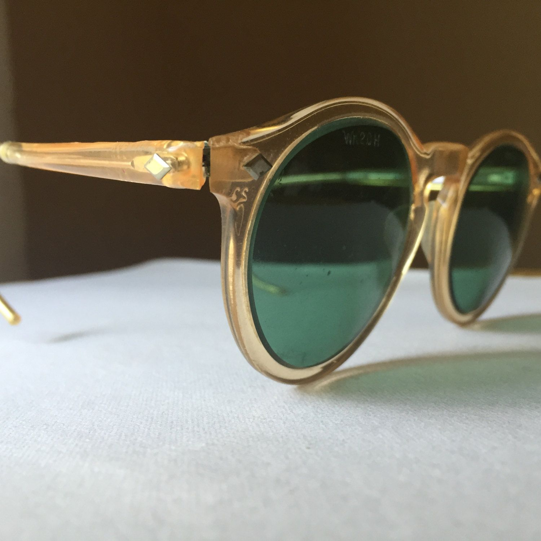 Vintage Safety Glasses Wilson's Welders Glasses Steampunk