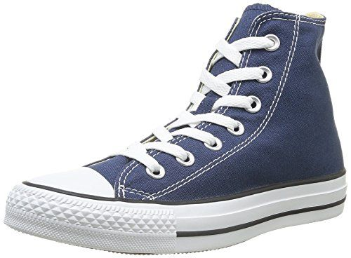 WOMEN'S Converse Sneakers Scarpe Di Tela Blu Tg UK 4 EU 37