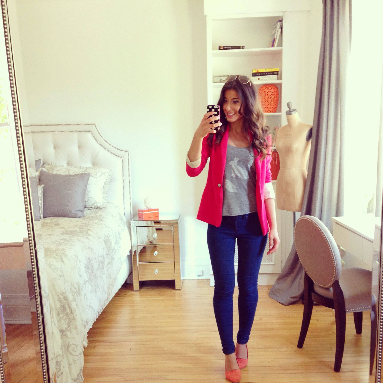 Mimi Ikonn Pink Blazer Look Of The Day Pinterest
