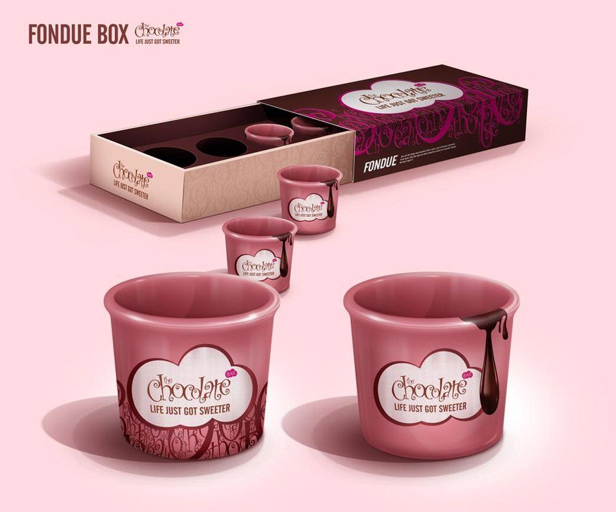 Choclate Bar Fondue Pack