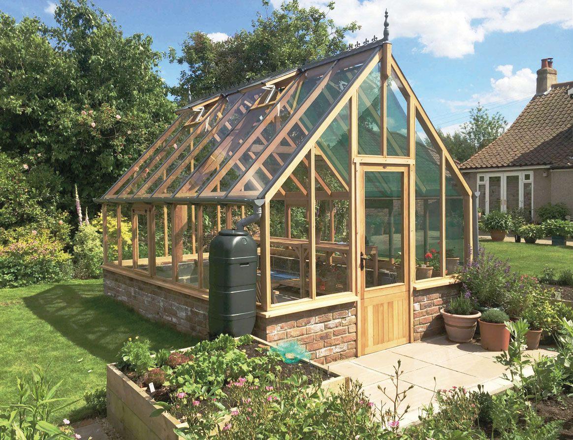 Beautiful cedar greenhouse nice ground wall toogarden – Garden Greenhouse Plans