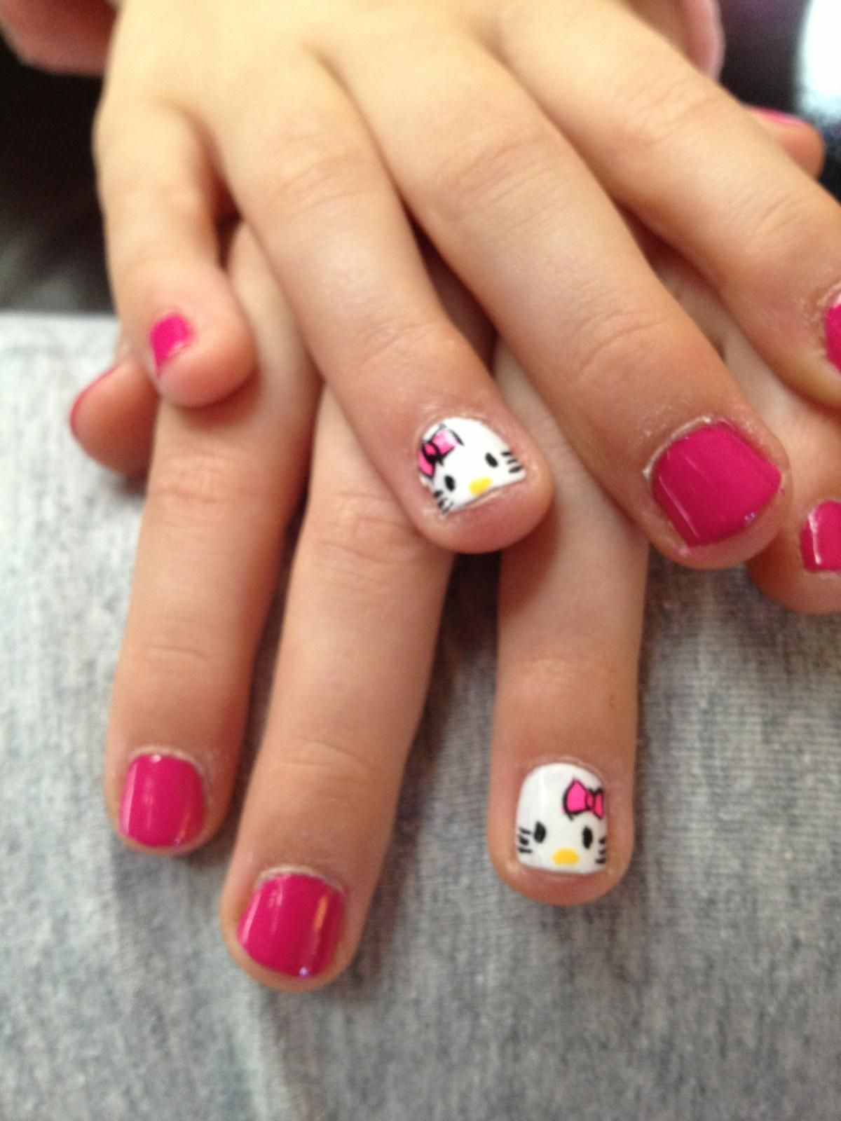 Little Girl Manicure
