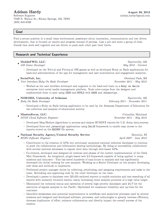 Zookeeper Resume Examples Resume Format Resume Format In Word Resume