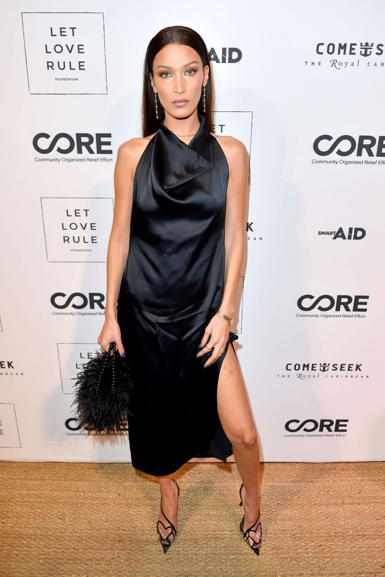 Bella Hadid - Core x Let Love Rule Benefit at Art Basel in Miami 12/05/2019.