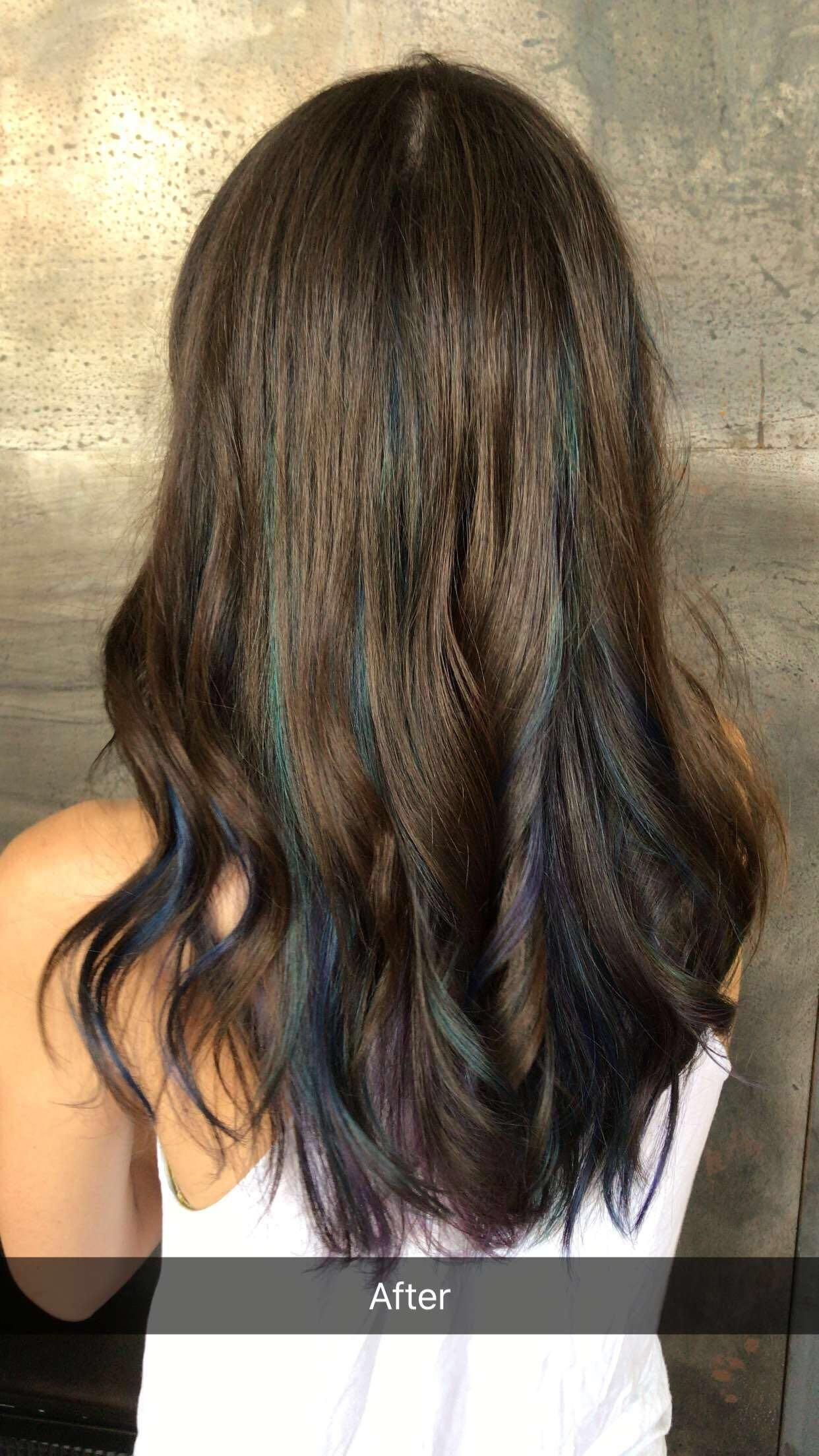20 ombre blue colors hairstyles ideas   hairstyles   oil