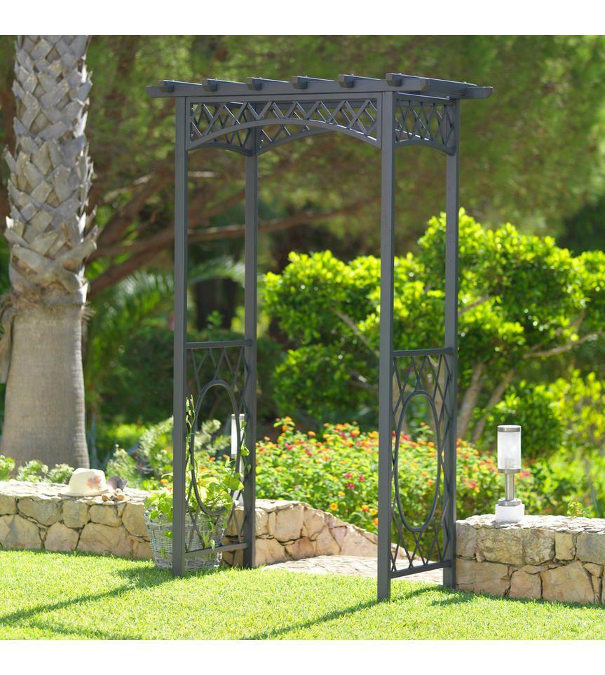 Rosenbogen Anthrazit Design Metall 140 220 75cm Ambia Garden Rosenbogen Haus Und Garten Garten Ideen