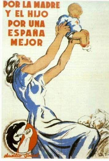 Nationalist http://digitalpostercollection.com/propaganda/1936-1939-spanish-civil-war/nationalists/por-la-madre-y-el-hijo-por-una-espana-mejor/#main 21/10/13