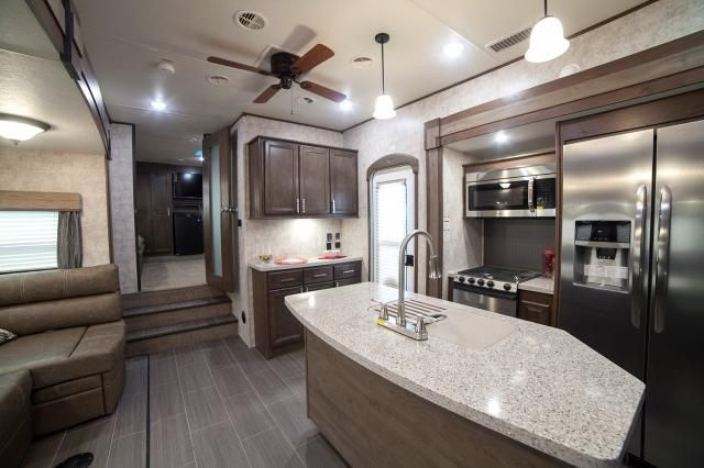 2018 Open Range 376Fbh  Front Living Room Or 2Nd Bedroom Fifth Brilliant Fifth Wheel Campers With Front Living Rooms Inspiration Design