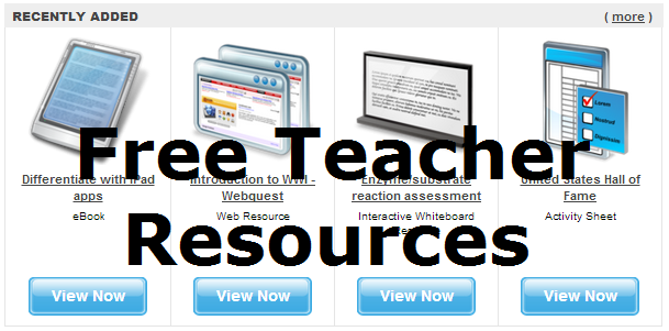 Free TeacherResources--several to look more into in the RW pwr pt