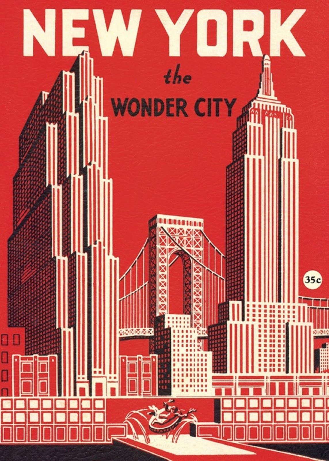 Art Deco Poster New York.Pin By Martha Patey On Vintage Travel Posters In 2019 Vintage