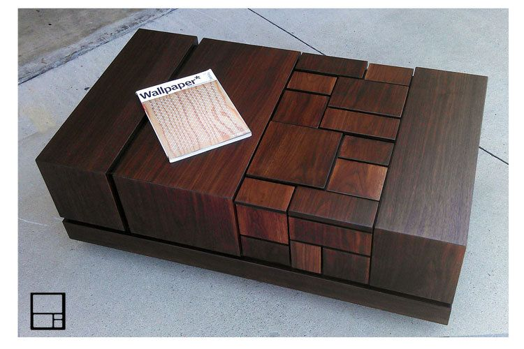 Abaci 54 Walnut Coffee Table For The Home Furniture