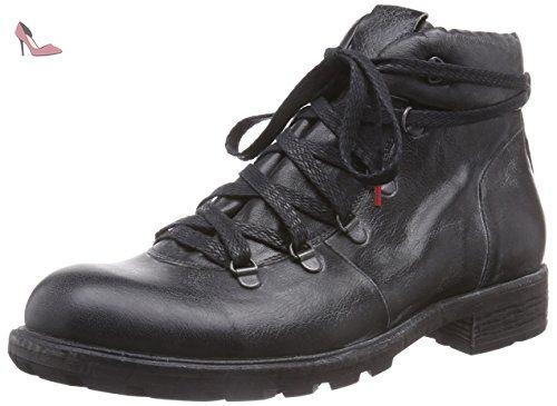 Menscha, Desert Boots Femme, Noir (Schwarz 00), 40 EUThink