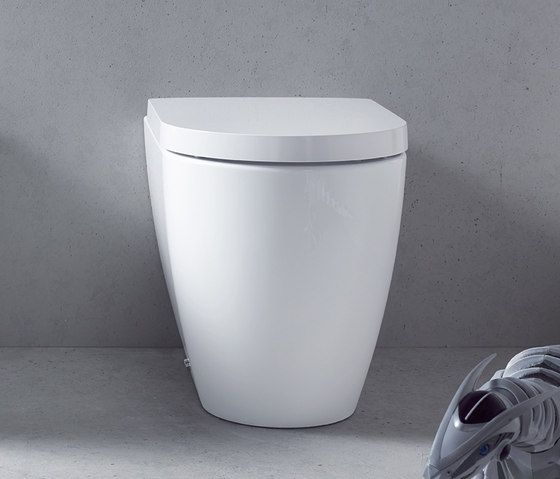 Toilets Toilets Me By Starck Duravit Philippe Starck Check It Out On Architonic Duravit Philippe Starck Wall Hung Toilet