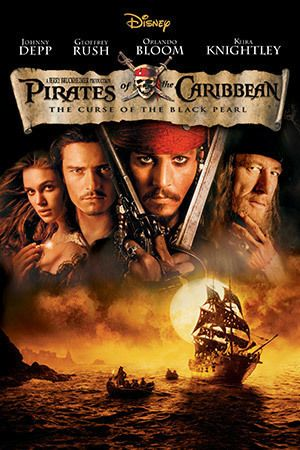 Pirates of the Caribbean The Curse of the Black Pearl 2003 BRRip 720p Hindi English x264 HEVC Download