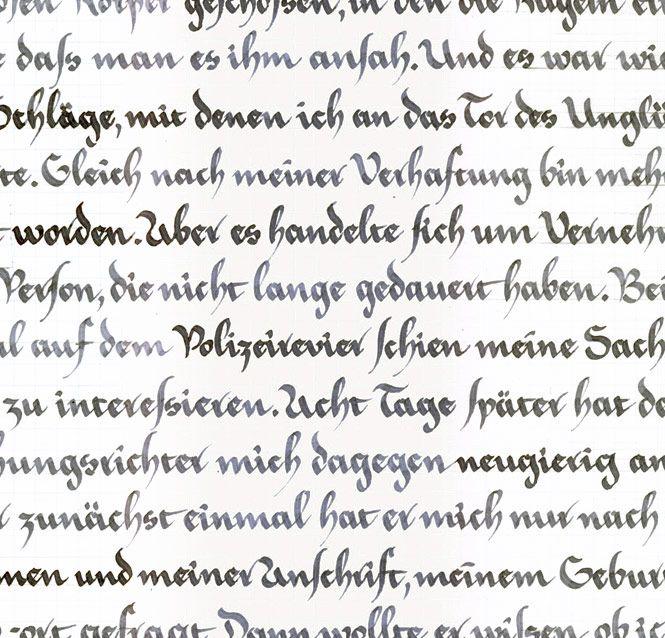 Kalligrafie   Julia Herrmann