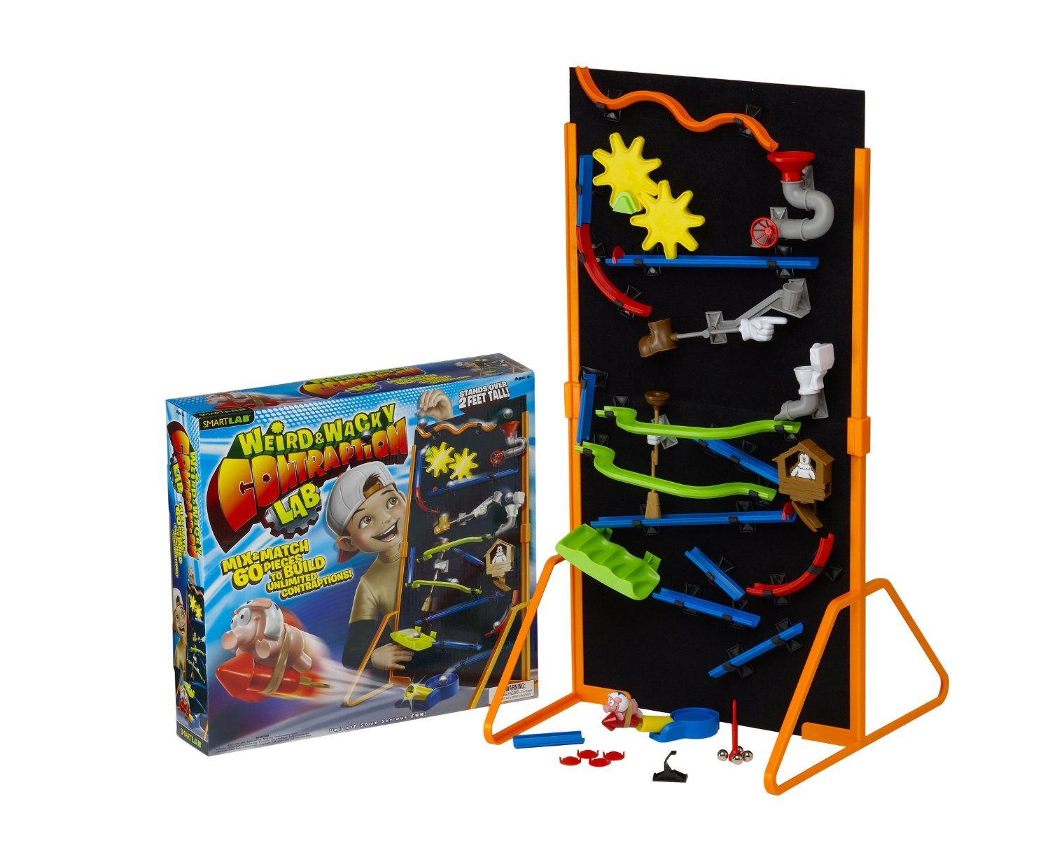 SmartLab Toys Weird & Wacky Contraption Lab   Engineering for kids ...