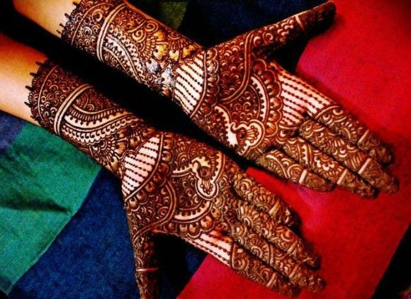 Mehndi Bridal Design Latest : New stylish bridal henna mehndi designs latest art