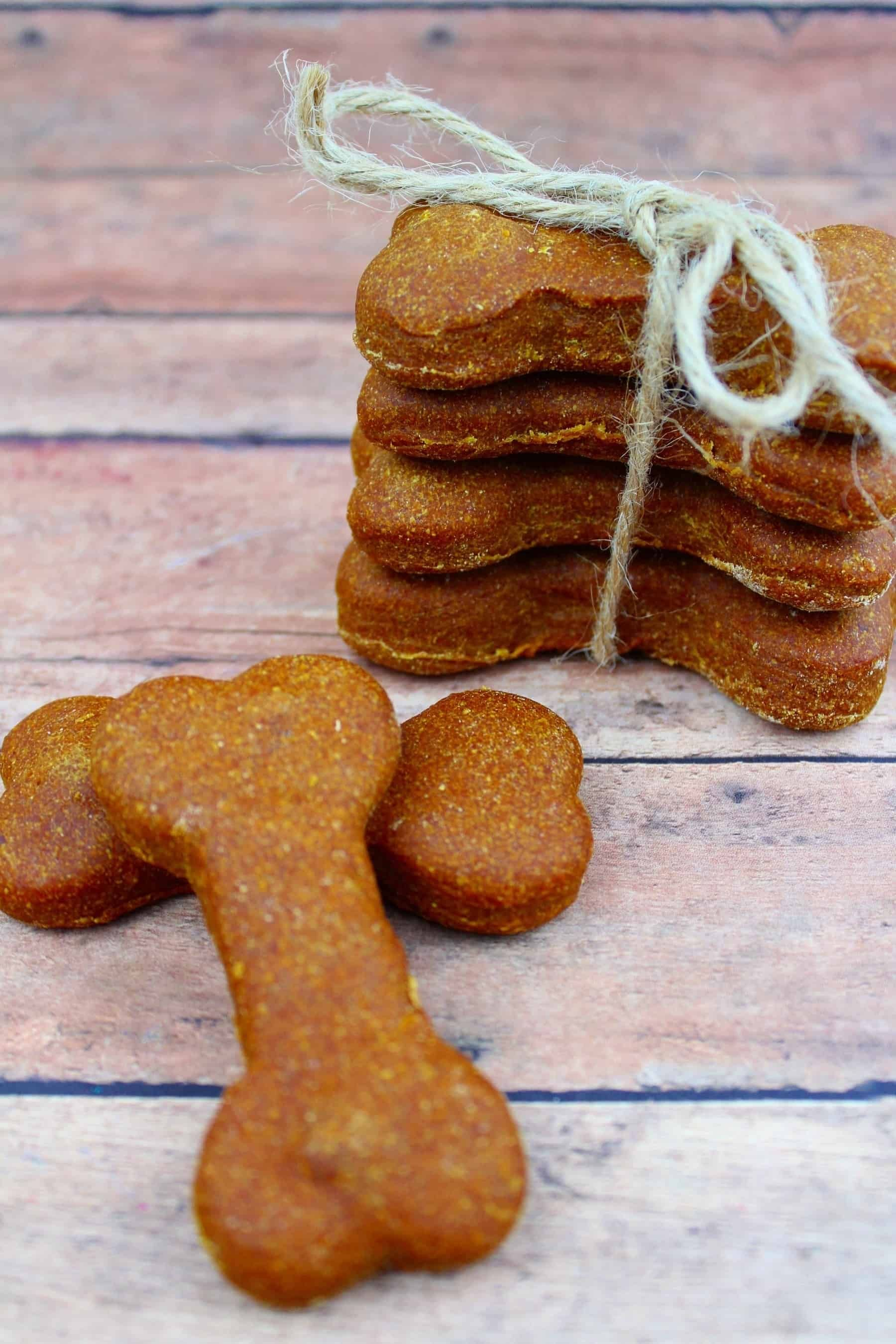 Homemade Pumpkin Peanut Butter Dog Biscuit Peanut Butter Dog
