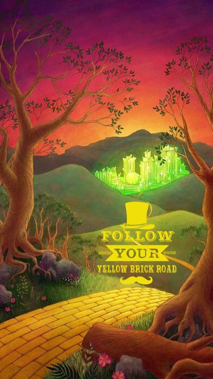 Follow Your Yellow Brick Road Tia Iphone 6 Wallpaper