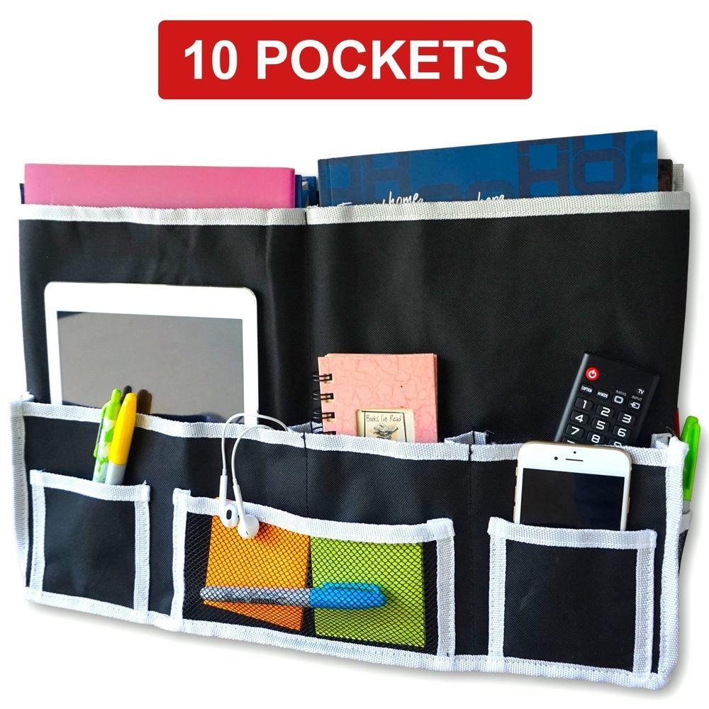 College Dorm Room Accessories Bedside Organizer Caddy 10
