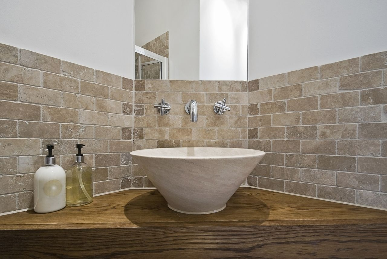 Tumbled Travertine 3x6 Noce Travertine Wall Tiles Travertine Shower Wall Tiles