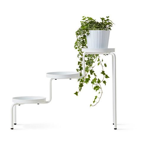 ikea ps 2014 soporte p/plantas, blanco int/ext, blanco | ikea ps