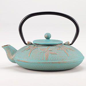 Aqua Butterfly Teapot | World Market