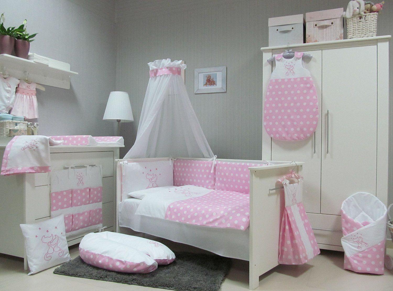 Baby Bettwäsche Set Cats 4tlg Bett Set 135100 Voile Fürs