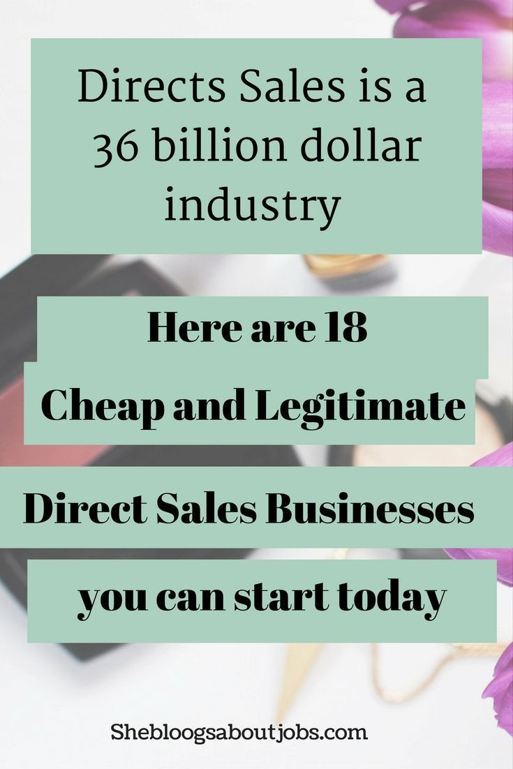 work from home direct sales the best direct sales companies you can start for cheap 6718