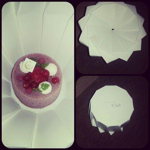 #angelcake #violette #amaretto #abricot #groseilles #yummy #dessert #CielPatisserie