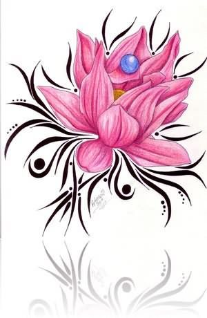 Lotus Tattoos Designs...lotus means overcoming difficulties ...