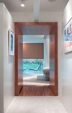 Wood Portal Portal Design Home Deco House Design