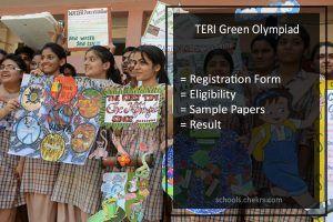 TERI Green Olympiad 2019!!! - जान ने के लिए