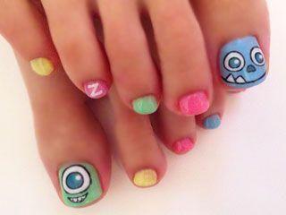 #nail #nails #nailart #nerdnaildesigns | Pretty toe nails ...