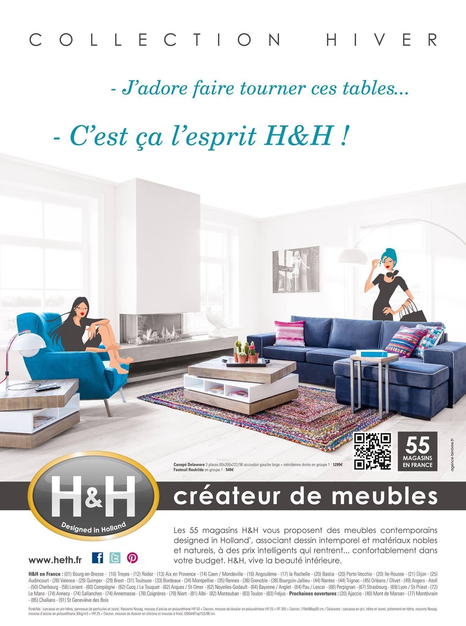 Visuel Hiver 2014 L Esprit H H Meuble Contemporain Mobilier De Salon Hiver