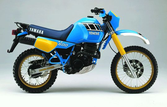 1985 Yamaha Xt 600z Tenere Motorcycles Motorbikes Motocicletas Xt 600 Xt 600 Scrambler Motos Rétro