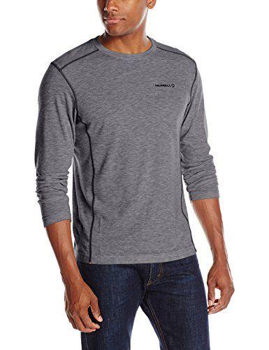 Terramar Sports Mens Merino Wool Bottom S Grey