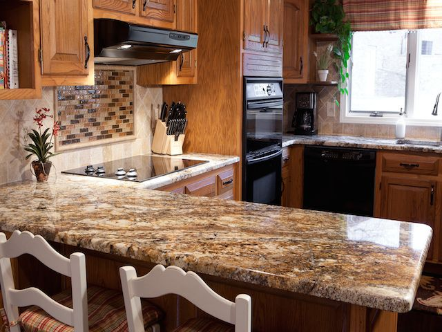 Kitchen Counter Design Ideas Part - 25: Betularie Granite Countertop Kitchen Design Ideas