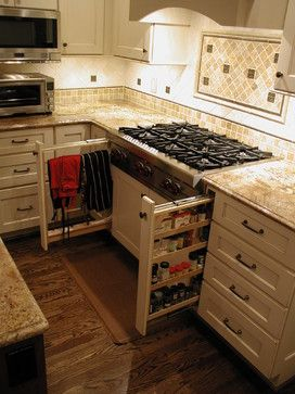 Cabinet Details U0026 Specialty Cabinets   Cabinet And Drawer Organizers    Detroit   Woodmaster Kitchens