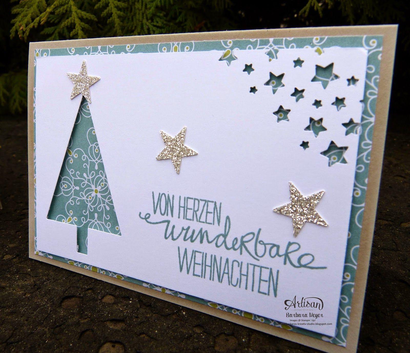 Weihnachtskartenproduktion