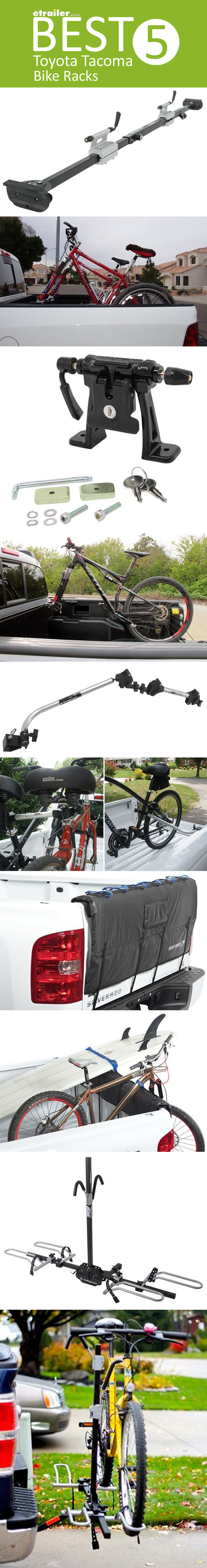 BEST 5 Toyota Bike Racks! Truck bed, tailgate and