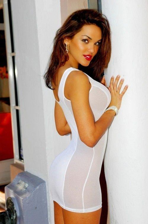 Hot tight brunette