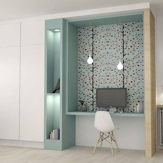 10 Idees Originales Avec Du Papier Peint Deco Maison Amenagement Maison Mobilier De Salon