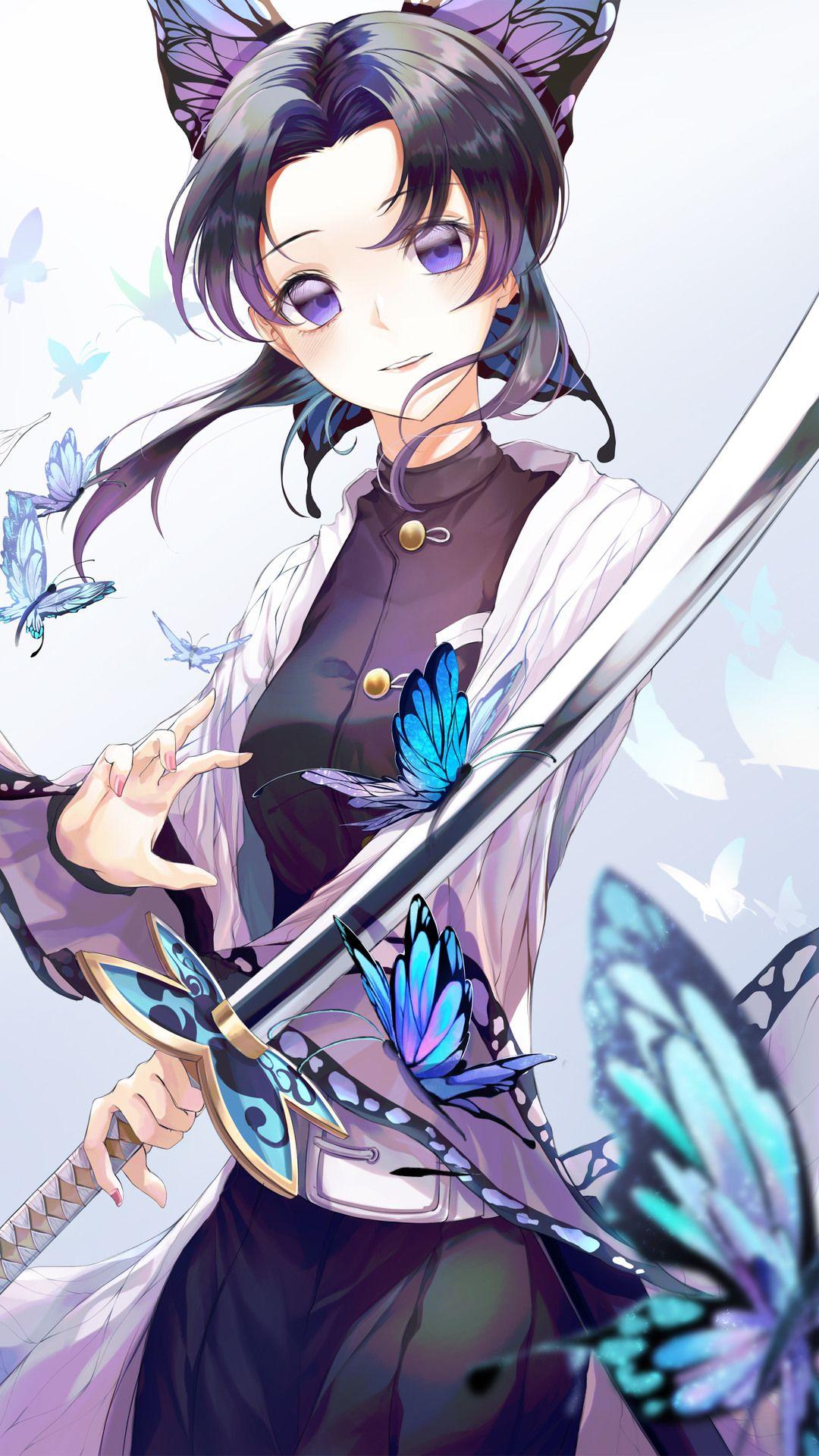 Best demon slayer shinobu kocho hd wallpaper hd 2020 trong