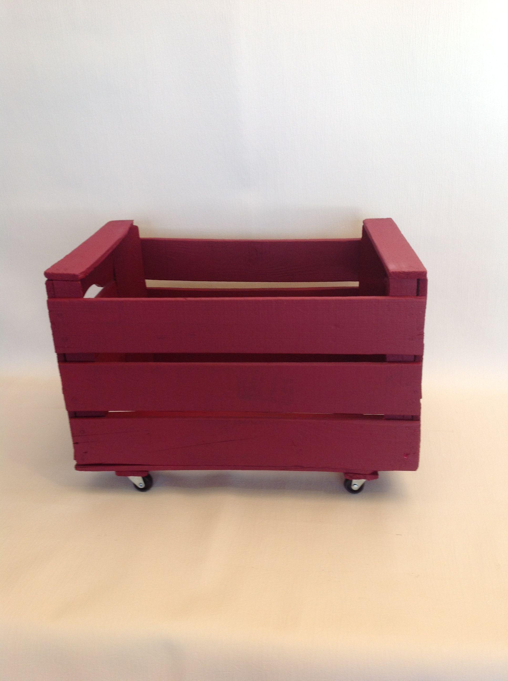 caja madera de fruta decorada se aceptan encargos para estanterias columnas librerias - Cajas De Madera De Fruta