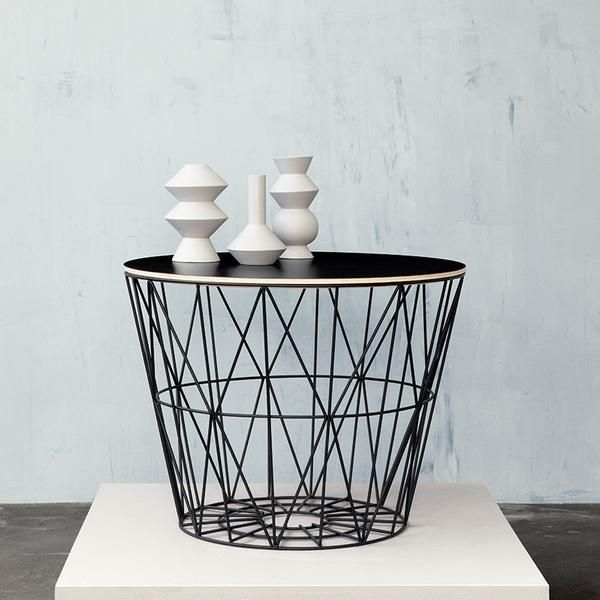Uberlegen Wire Baskets U0026 Side Tables By Ferm Living (Basket ...