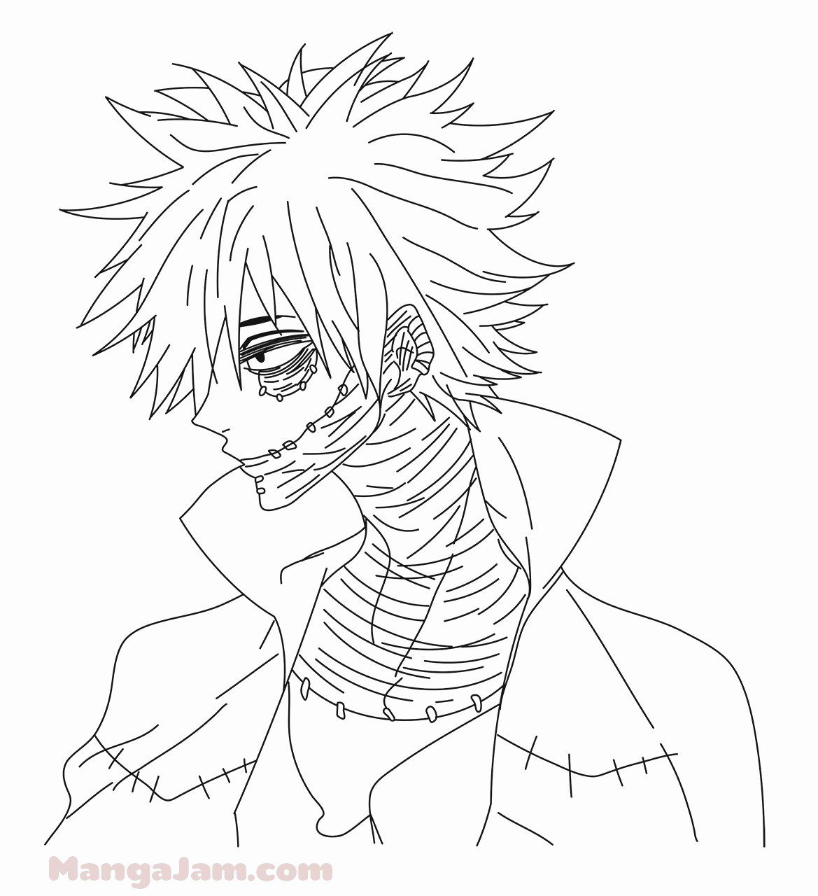 Bnha Coloring Pages