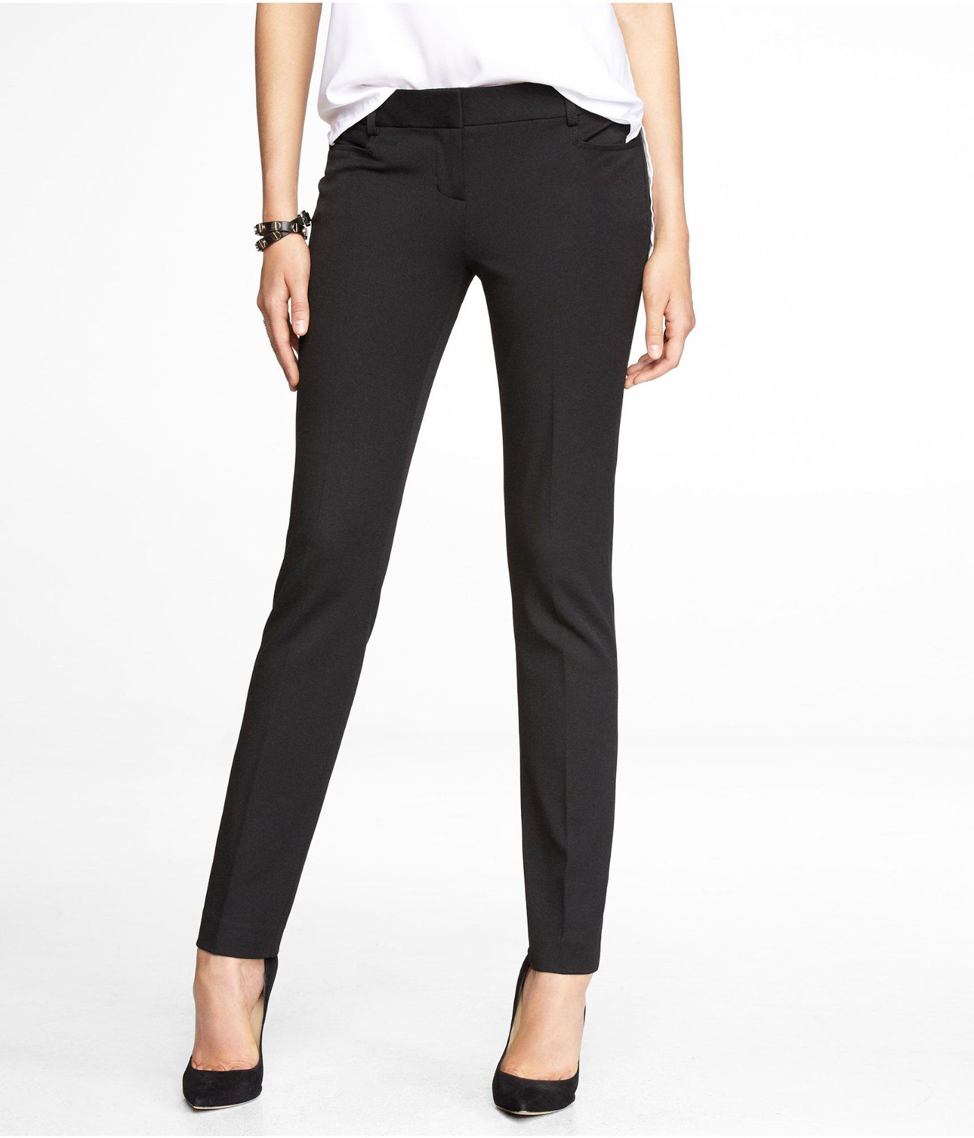 d85a78c5d8364 Dress for Success] STUDIO STRETCH SLIM LEG COLUMNIST PANT | Express ...
