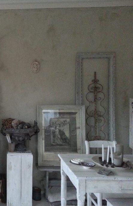 my home painted with lime paint 78 Duinen L'Authentique paints